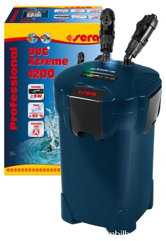 Filtro exterior sera uvc xtreme 1200 for Filtro vasca pesci