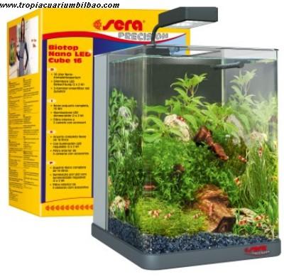 Sera biotop nano led cube 16 litros for Sera acquari